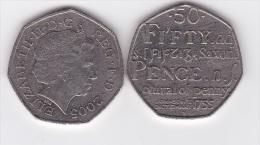 Great Britain - 50 Pence 2005 VF Lemberg-Zp - 50 Pence