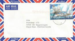 Fiji 2005 Lautoka Sailing Joint Issue With Vanuatu Cover - Fiji (1970-...)