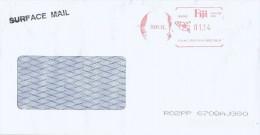 Fiji 2012 Hasler AH065 Postage Paid Meter Franking Cover - Fiji (1970-...)