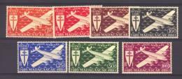 Madagascar  -  Avion  :  Yv  55-61   ** - Madagaskar (1889-1960)