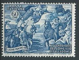 1951 VATICANO CALCEDONIA 60 LIRE MNH ** - ED800 - Vatican