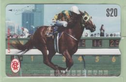 Australia - CardPhone - 1994 Famous Race Horses - $20 Lets Elope - Mint - Australia