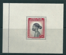 Belgian Congo 1944 Miniature sheet MNH