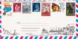 ESPANA 1983 - Filatelica Schmuckbrief Mit 7 Fach Sondermarken - 1981-90 Briefe U. Dokumente