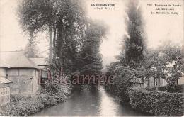 LE HOULME - La Rivière De Cailly -  Dos Vierge  - 2 Scans - Francia