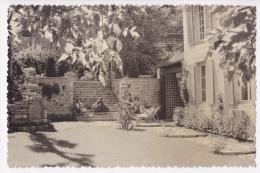 Les Riceys - La Hott�e ( demeure bourgeoise, terrasse et parc, chaises longues) circul� 1957