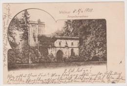 Weimar, Tempelherrenhaus, 1900,  Thüringen - Weimar
