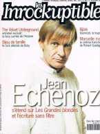 Les Inrockuptibles   N°27  -  11 Au 17 Octobre 95 - Jean Echevoz Velevet Underground Ruby Bjork - Musique