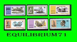 586/591**  Centenaire de la naissance de Guillaume Marconi (1874-1937) - RWANDA