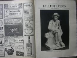 L'ILLUSTRATION 3707 STATUE HENRI FABRE/ CASERNE UNIVERSITAIRE/ MAROC/ ALBANIE/ PERRUQUES COULEURS/ PERSE/  14 Mars 1914 - Journaux - Quotidiens