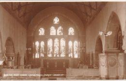 LYNTON PARISH CHURCH. EAST WINDOW.  JUDGES 10159 - Lynmouth & Lynton