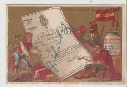 Liebig.Passeport Espagnol.El Consul De Espana. Chromo Hutinet. - Liebig