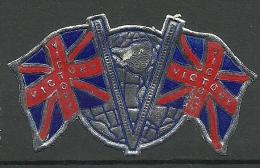 England Great Britain Old Patriotic Vignette Poster Stamp Flag Flagge MNH - Vignetten (Erinnophilie)