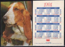 USSR 1991   1 V Dogs Dog Chien Chiens Hund Hunde Cane Cani Hond Honden - Tamaño Pequeño : 1991-00