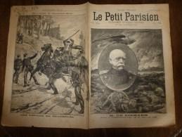 1898 LPP  Drame Sanglant à ENGLOS Près D'Haubourdin Entre Le Douanier Gicquel Et Un Contrebandier; Bismark ..etc - 1850 - 1899