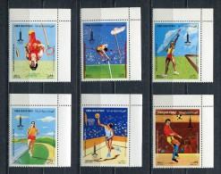 YEMEN YAR 1982  Mi # 1683 A - 1688 A Olympic Games Moscow MNH - Yemen