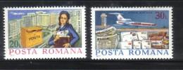 PC600 - ROMANIA , Aerea Serie N. 251/252  ***  MNH . - Nuevos