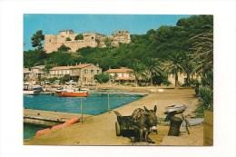 Carte Postale  ILE DE PORT-CROS, Le Port Et Le Fort Du Moulin - Other Municipalities