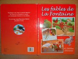 """45 FABLES DE """"LA FONTAINE"""" ILLUSTREES PAR VANDENDAELE CHRISTIAN - Poésie"""