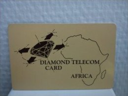Diamand Telecom Africa Used Rare - Phonecards