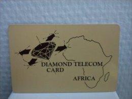 Diamand Telecom Africa Used Rare - Telefoonkaarten