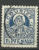 Deutsches Reich Ca 1890 Lokaler Stadtpost Local City Post O - Duitsland
