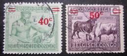 A9068 - Belgian Congo - 1931 - Sc. 136-137