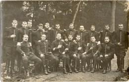 SAINTE-MENEHOULD (Marne 51) : Militaires Du 6e Régiment De Cuirassiers En 1914 - Carte-photo. - Sainte-Menehould