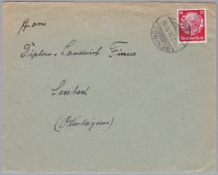 Heimat DE HE WENINGS 1936-2-27 Brief Nach Seesbach - Deutschland