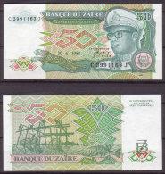 Zaire , 50 Zaires , 1988 , P-32 , UNC - Zaire