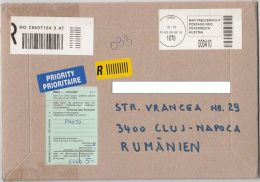 PREPAID REGISTERED COVER, CUSTOM DUTY, DOUANE, 2005, AUSTRIA - 2001-10 Brieven