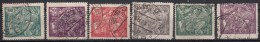 TSJECHOSLOWAKIJE - Michel - 1920 - Nr 183/88 - Gest/Obl/Us - Tchécoslovaquie