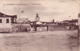 ALBANIE - KORITZA - VUE PRINCIPALE - CARTE DATEE DU 31 MARS 1918. - Albanie