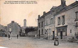 ¤¤  -   22   -   SAINT-ETIENNE-de-MONTLUC   -   Vue Sur L'Eglise Prise Du Pâtis Ou Champ De Foire  -   ¤¤ - Saint Etienne De Montluc