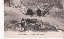 KORITZA (KORCE ALBANIE) 48 LA FONTAINE 1918 - Albanie