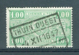 "BELGIE - OBP Nr TR 245 - Cachet ""THUIN-OUEST"" - (ref. 3112) - Spoorwegen"