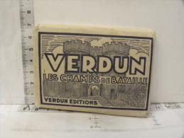 (55) Meuse - VERDUN - VERDUN Et Les Champs De Bataille - Pochette 20 Photos - Guerre 14/18 - Verdun