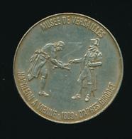 Jeton, L´Abeille (1969), Musée De Versailles, Napoléon à Vienne (1809) D´après Girodet, Réalisé Par Total (2 Scans) - France