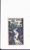 TOGO : Route à Travers La Foret : Y&T : * : 23 PA Légère Charnière - Togo (1914-1960)