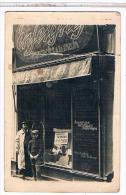 CPA  CARTE PHOTO  MAGASIN DE PEINTRE EN LETTRES OU?  CB439 - Cartes Postales