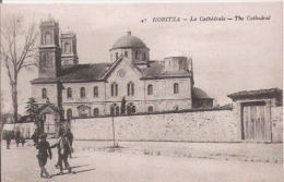 KORITZA (KORCE ALBANIE) 47 LA CATHEDRALE (PETITE ANIMATION) - Albanie