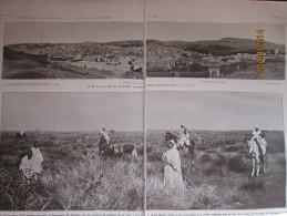 1913  Plan De Fez El Djedid   Bali  Moulai  Hafid Et  Chasse Aux Faucons Mellah  Plan Fez - Ohne Zuordnung