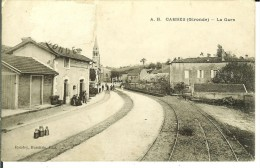 CPA CAMBES  La Gare 10722 - France