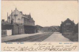 22571g GARE - QUAI - Wasmes - 1902 - Colfontaine
