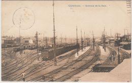 22606g GARE - CHEMIN De FER - AIGUILLAGE - TRAIN - Châtelineau - 1909 - Châtelet