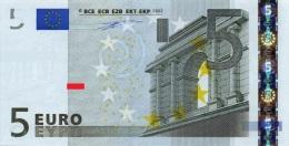 EURO ITALY 5 S DUISENBERG J001 UNC - EURO