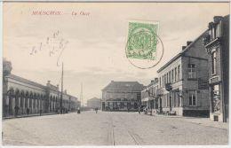 22631g STATIE - GARE - Mouscron - 1910 - Moeskroen