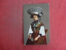 Madchen Aus Dem Thurgau  Corner Chip  Ref 1456 - Customs