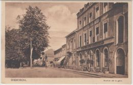 22542g DIEKIRCH - Hotel Du Midi - Cafe - Restaurant - Avenue De La Gare - Diekirch
