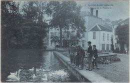 22718g PAPETERIE - ETANG - Rhode-Saint-Genése - 1908 - SBP 7 - St-Genesius-Rode